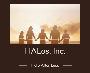 HALos (Helping After Loss) logo